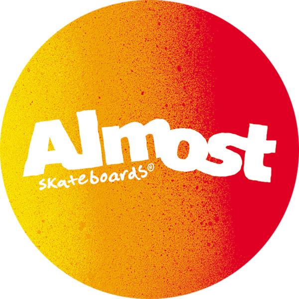 Almost Skateboards Gradient Flip Skate Sticker