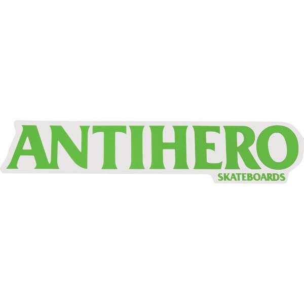 Anti Hero Skateboards Medium Long Blackhero Skate Sticker