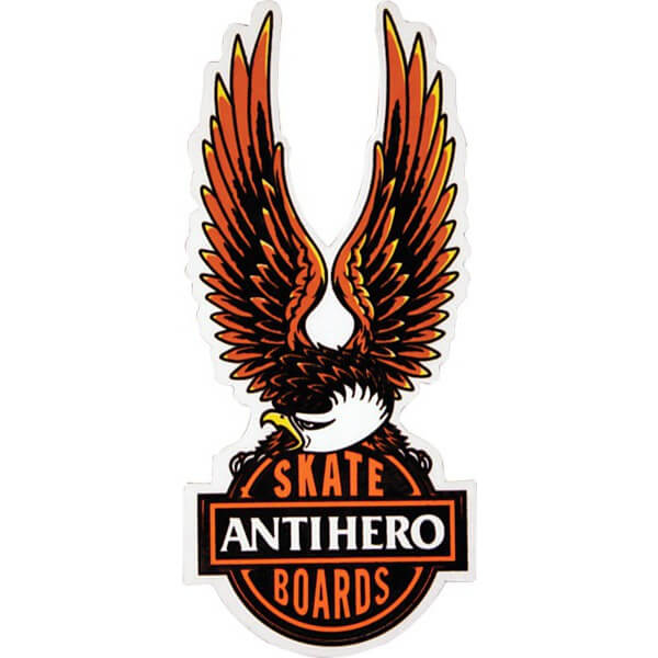 Anti Hero Skateboards Small Nothings Free Skate Sticker