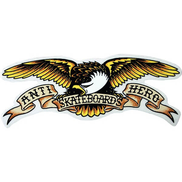 Anti Hero Skateboards Large Eagle Skate Sticker