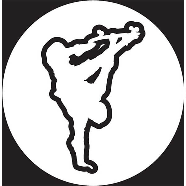American Skate Sad Plant White Skate Sticker