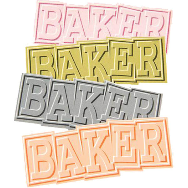 Baker Skateboards Ribbon Assorted Colors Skate Sticker