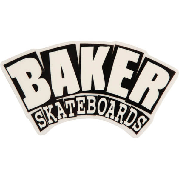 Baker Skateboards Arch Skate Sticker