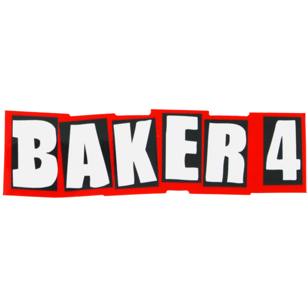 Baker Skateboards Baker 4 Skate Sticker