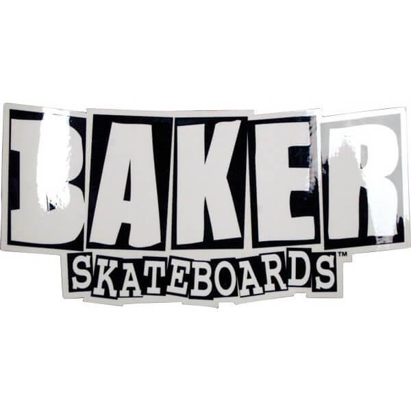 Baker Skateboards Brand Logo Assorted Colors Skate Sticker Medium