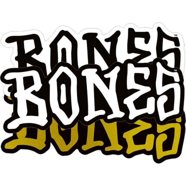"Bones Wheels 5"" Bones Assorted Colors Skate Sticker"