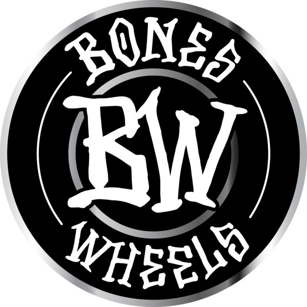 "Bones Wheels 6"" Branded Assorted Colors Skate Sticker"