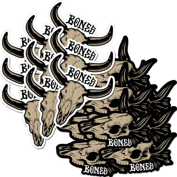 Bones Wheels Desert West 20 Pack Assorted Decals Skate Sticker
