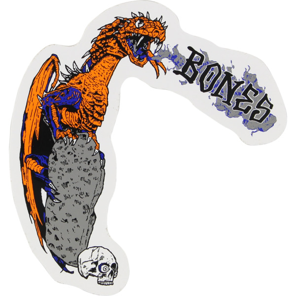 "Bones Wheels Cody Lockwood Dragon 4"" Skate Sticker"