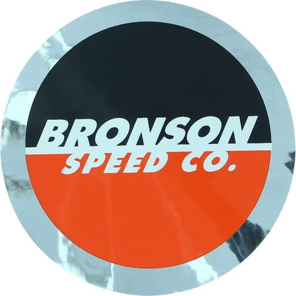 """Bronson Speed Co 2.5"""" Spot Foil Logo Skate Sticker"""