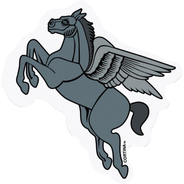 Cortina Bearing Co Pegasus Skate Sticker