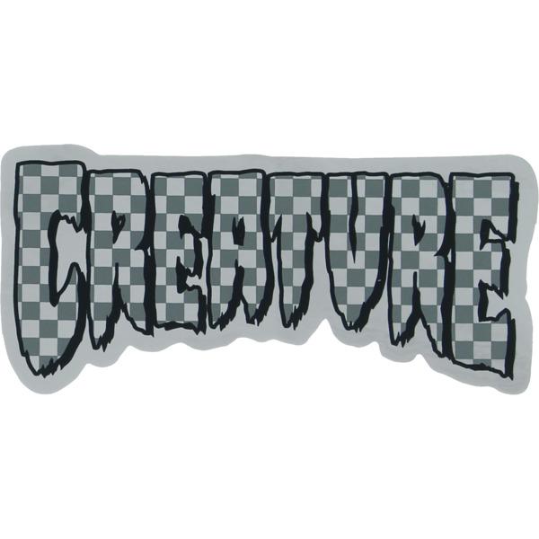 "Creature Skateboards 2"" x 4.25"" Logo Check Foil Skate Sticker"