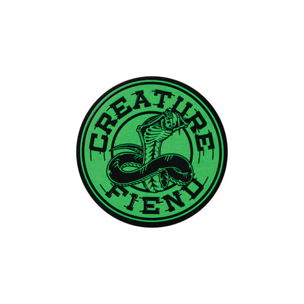 Creature Skateboards Strike Fast Skate Sticker - 3""