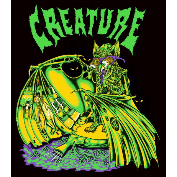 """Creature Skateboards 4"""" X 3.5"""" Trader Skate Sticker"""