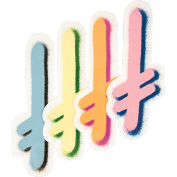 Deathwish Skateboards Gang Logo HO20 Assorted Colors Skate Sticker