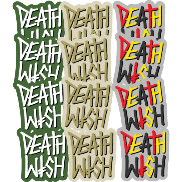 Deathwish Skateboards 12 Pack Deathstack SU20 Assorted Skate Stickers