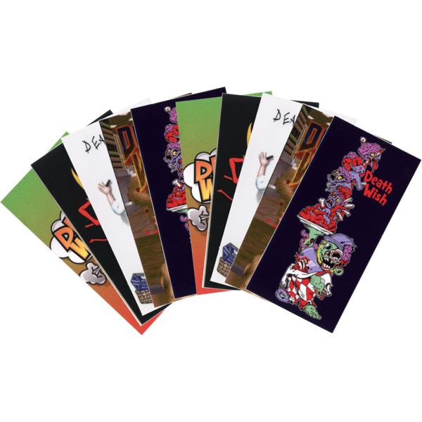 Deathwish Skateboards Assorted 12 Pack of Spring 19 One Offs Skate Sticker