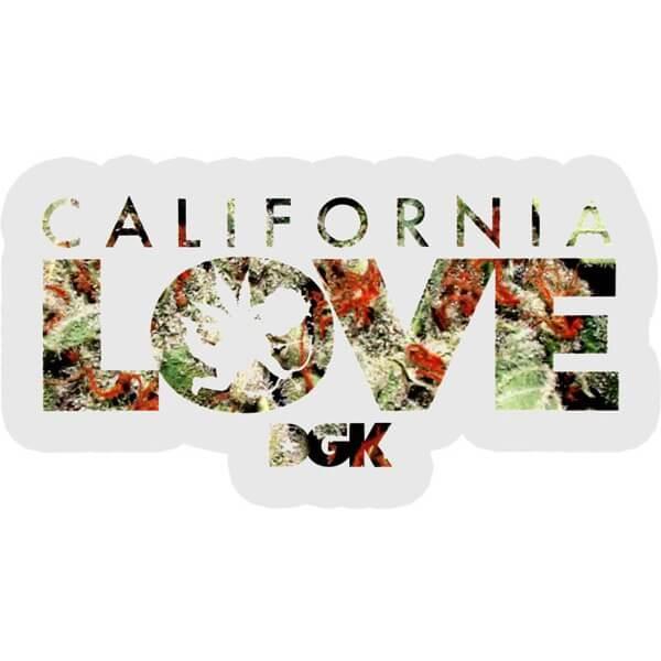 DGK Skateboards Cali Love Skate Sticker