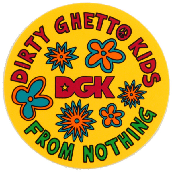 DGK Skateboards Daisy Skate Sticker