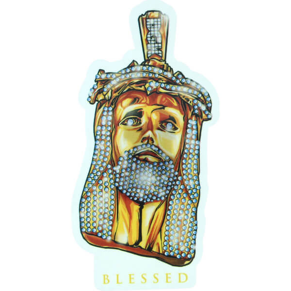 DGK Skateboards Jesus Piece Skate Sticker