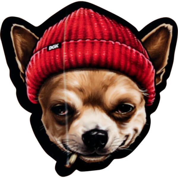 DGK Skateboards Spirit Animal Chihuahua Skate Sticker