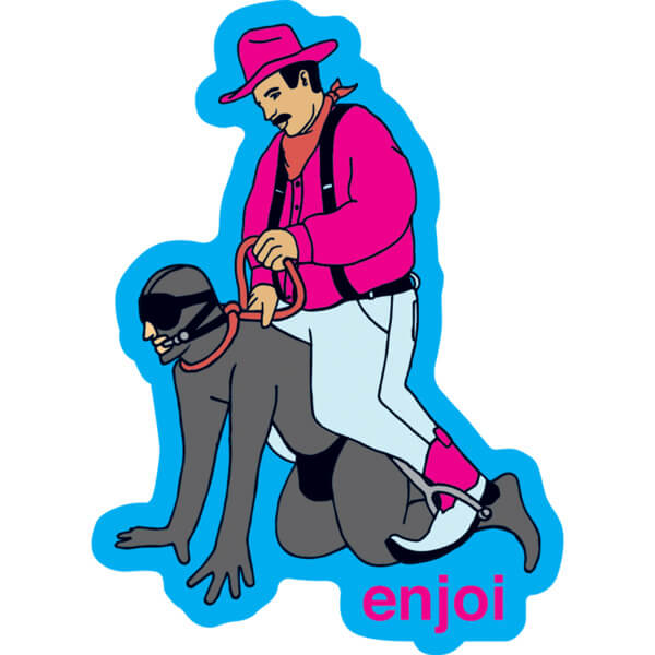 Enjoi Skateboards Gimp Skate Sticker