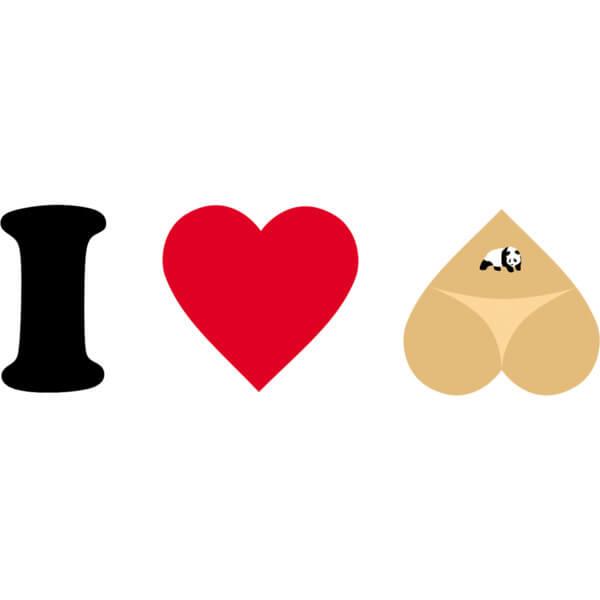 Enjoi Skateboards I Heart Hearts Skate Sticker