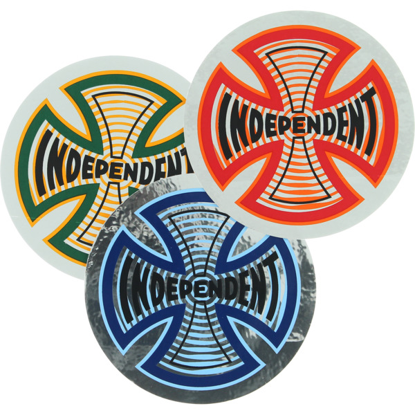 "Independent 4"" x 4"" Coil Foil Skate Sticker"