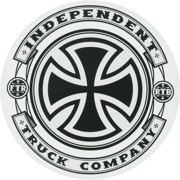 """Independent 5"""" x 5"""" Steady Mylar Skate Sticker"""