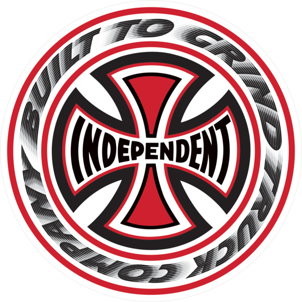 "Independent 3.5"" T/C Blaze Skate Sticker"