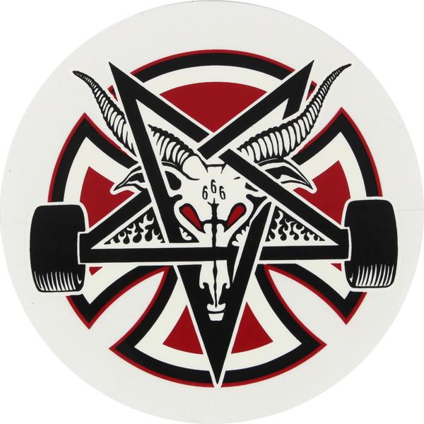 Independent 2.75 Pentagram Cross Skate Sticker - Warehouse ...