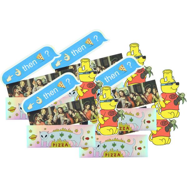 Pizza Skateboards 20 Pack Assorted Skate Sticker