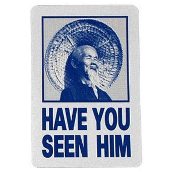 Powell Peralta Have You Seen Him Skate Sticker