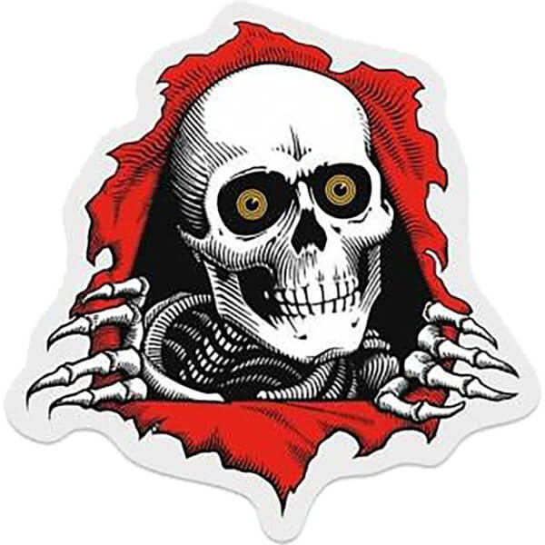 Powell Peralta Ripper Skate Sticker - 3""