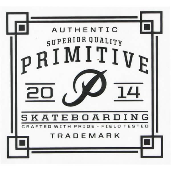 Primitive Skateboarding Authentic Skate Sticker ...