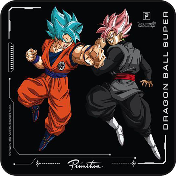 Primitive Skateboarding DBS Goku Versus Black Skate Sticker