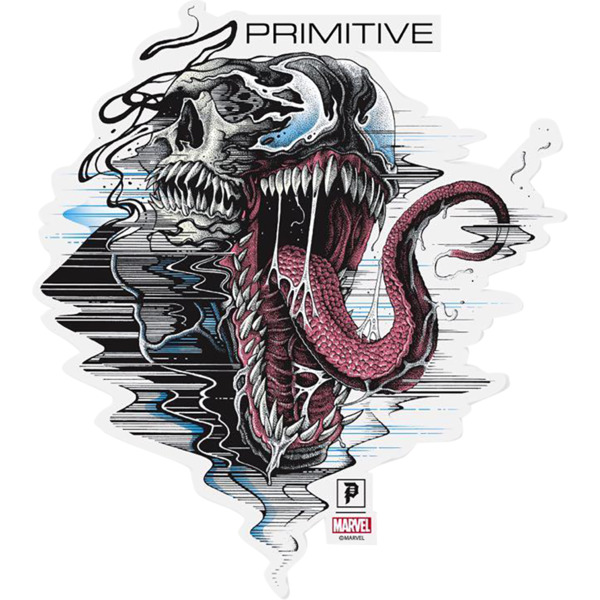 Primitive Skateboarding Venom Die-Cut Skate Sticker