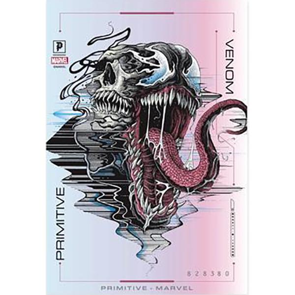 Primitive Skateboarding Venom Foil Hologram Skate Sticker