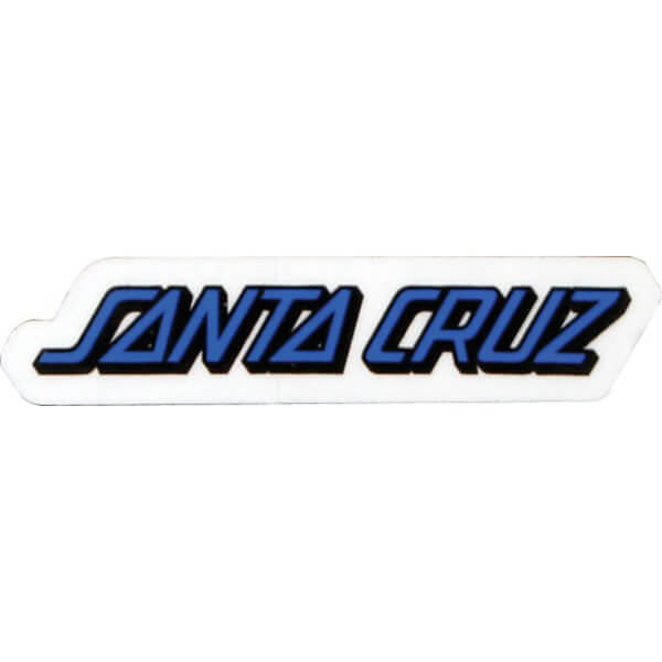 "Santa Cruz Skateboards 1"" x 5"" Classic Strip Skate Sticker"
