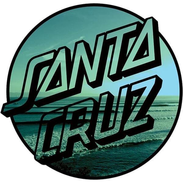 Santa Cruz Skateboards Homebreak Skate Sticker 6 X 6