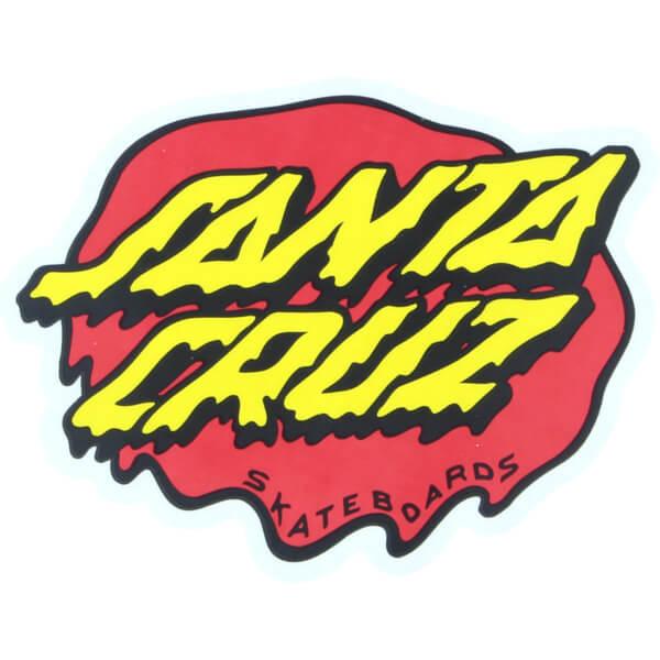 Santa Cruz Skateboards Slime Dot Red Yellow Black