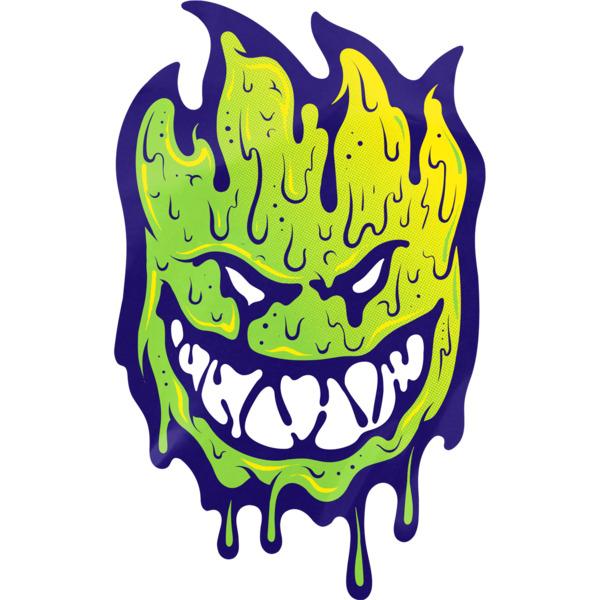 "Spitfire Wheels 6"" Toxic Apocalypse Skate Sticker"