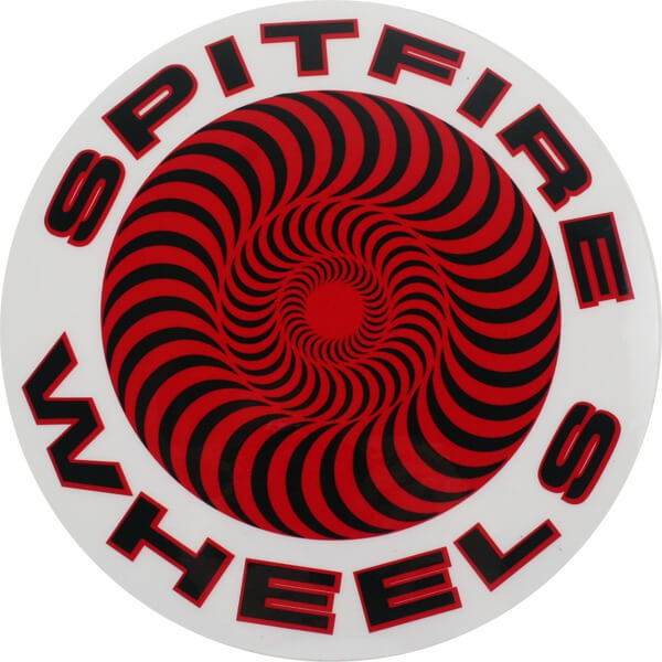 Spitfire Wheels Large Classic Skate Sticker