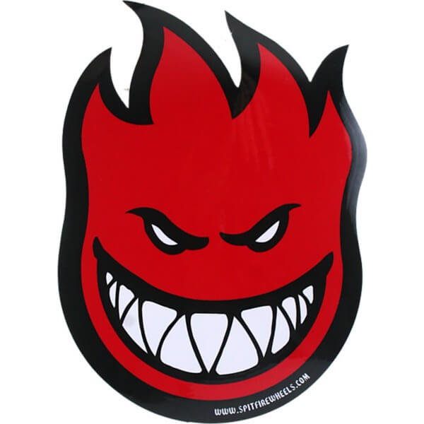 Spitfire Fireball Sticker