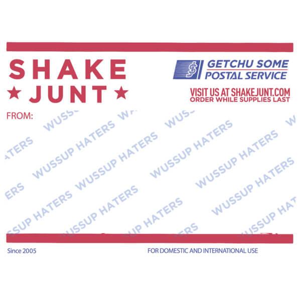 Shake Junt Postal Skate Sticker