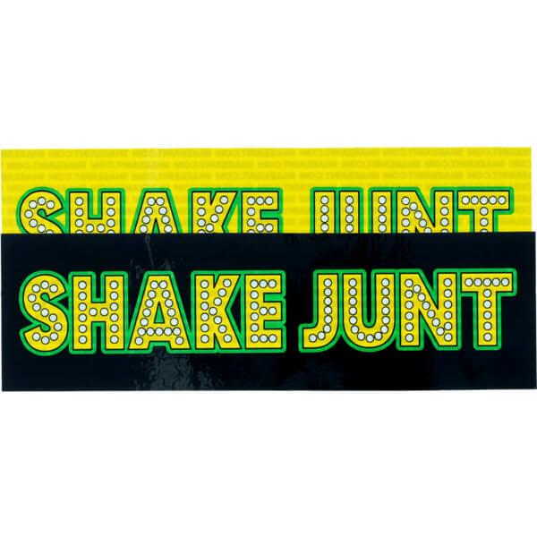 Shake Junt Stretch Logo II Assorted Colors Skate Sticker