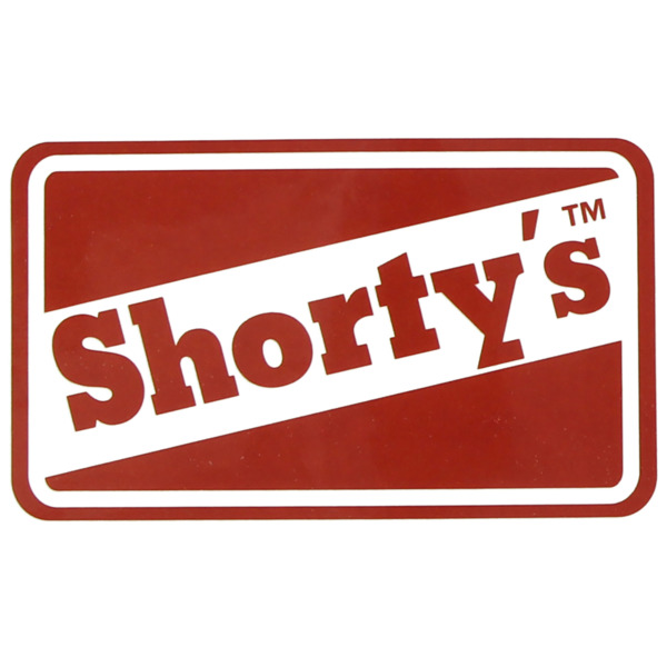"Shortys Skateboards 2.5 "" OG Classic Skate Sticker"