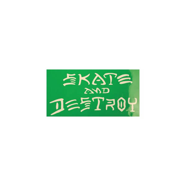 Thrasher Magazine Sk8 & Destroy Small Assorted Colors Skate Sticker
