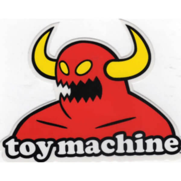 Toy Machine Skateboards Monster Skate Sticker Warehouse