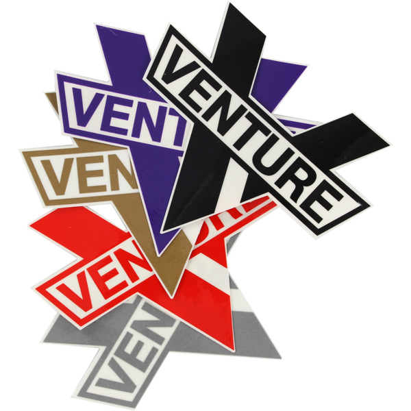 c4c957233051 Venture Trucks Small Bar Die-Cut Skate Sticker - Warehouse Skateboards